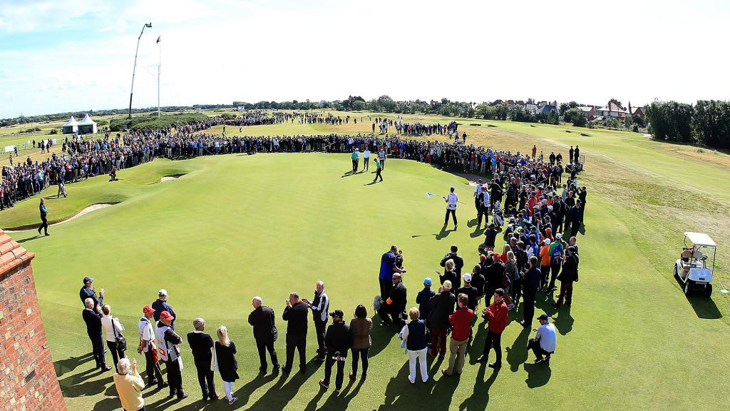 It's a huge golf tournament – but not as we know it