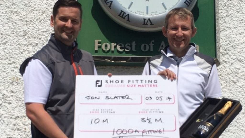 FootJoy fit 1,000th customer in educational mission