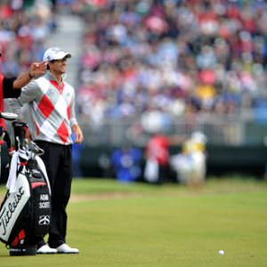 OPEN GOLF: Scott and a Scot lead the way