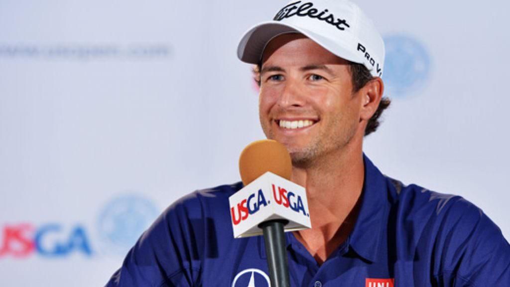 US Open golf: A video of Adam Scott's press conference