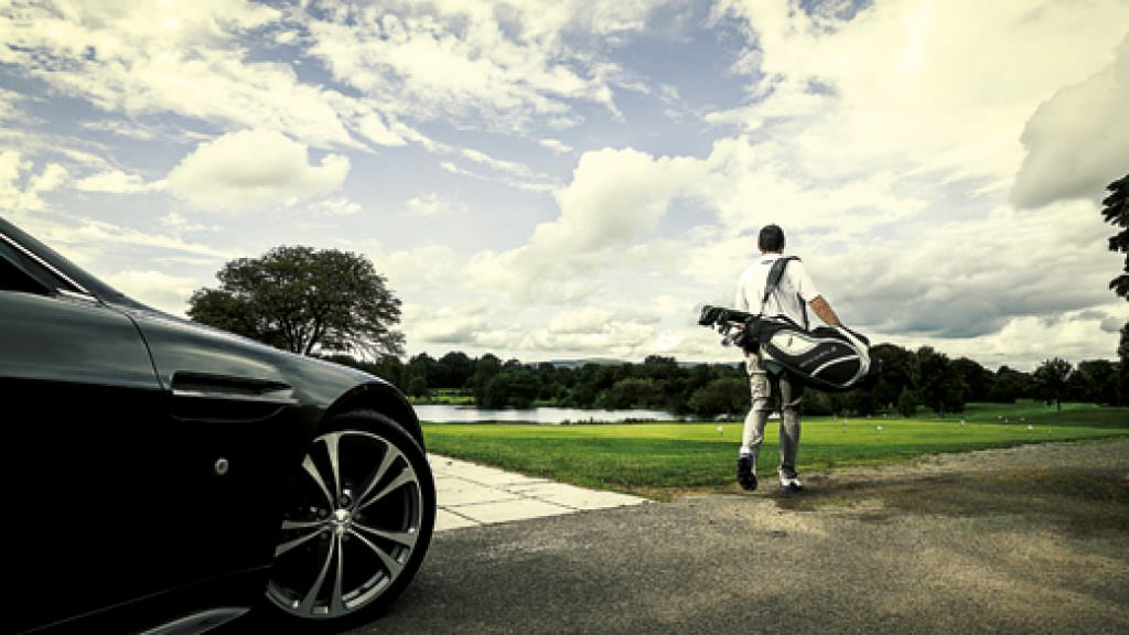 The Aston Martin of golf gear...