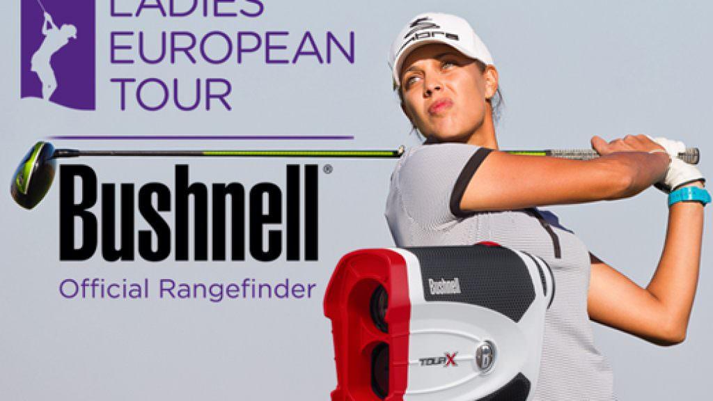 Bushnell rangefinders supply Ladies European Tour stars