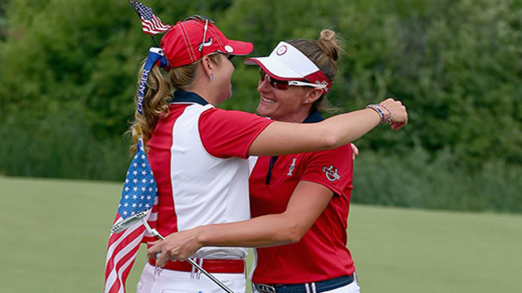 Solheim Cup: Creamer and Lang handed captain's picks
