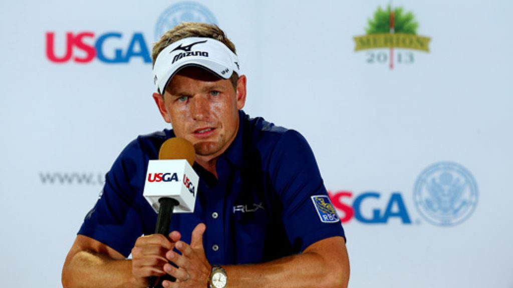 US Open golf: Luke Donald's Merion press conference