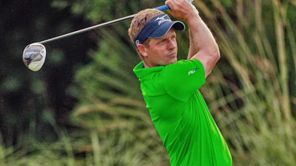 Luke Donald's search for driver accuracy