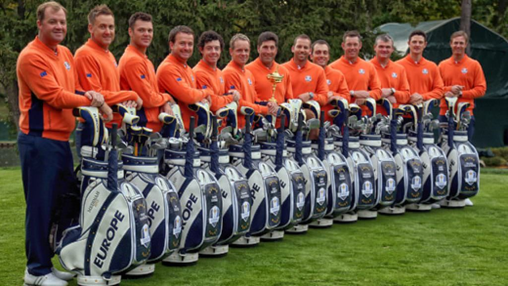 IN OUR BAGS: Europe's Ryder Cup team