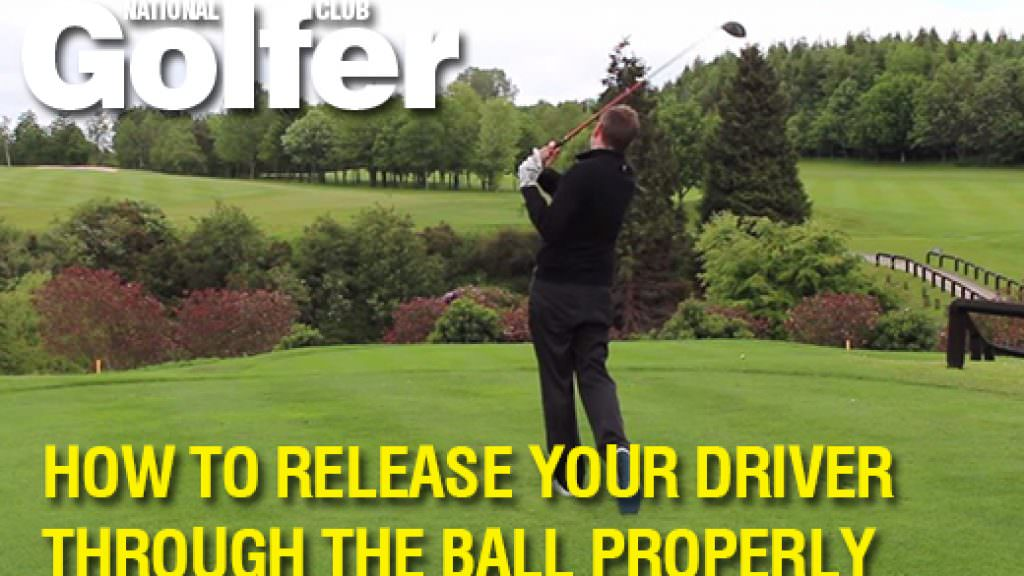 How to release your driver properly through the ball