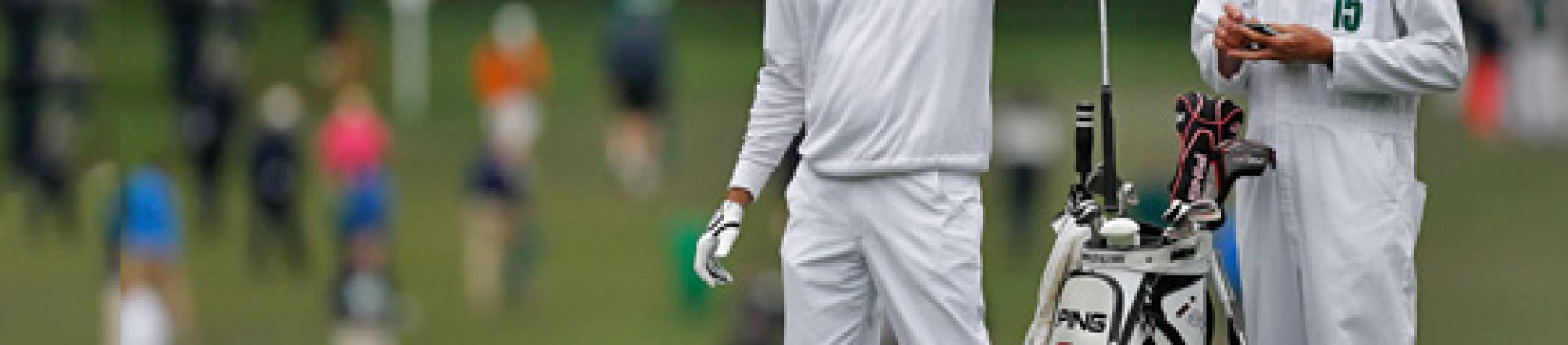Masters 2012: In the winner's bag
