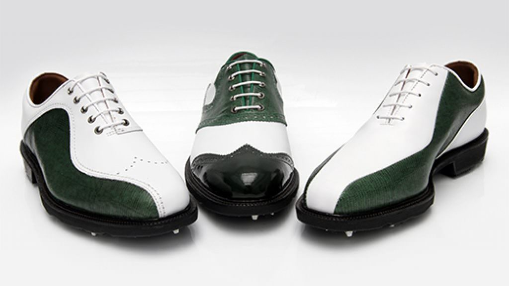 Green Leather MyJoys released by FootJoy in time for The Masters