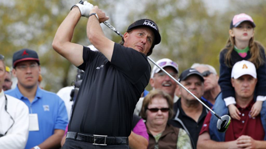 Lefty in love with new Callaway driver