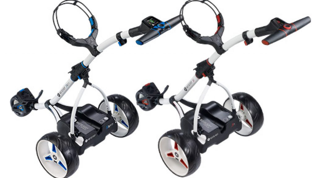 Equipment: Motocaddy update S1 and S3 Pro trolleys