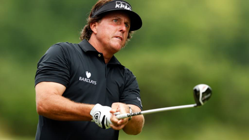 US Open golf: Mickelson and Donald out in front on day one