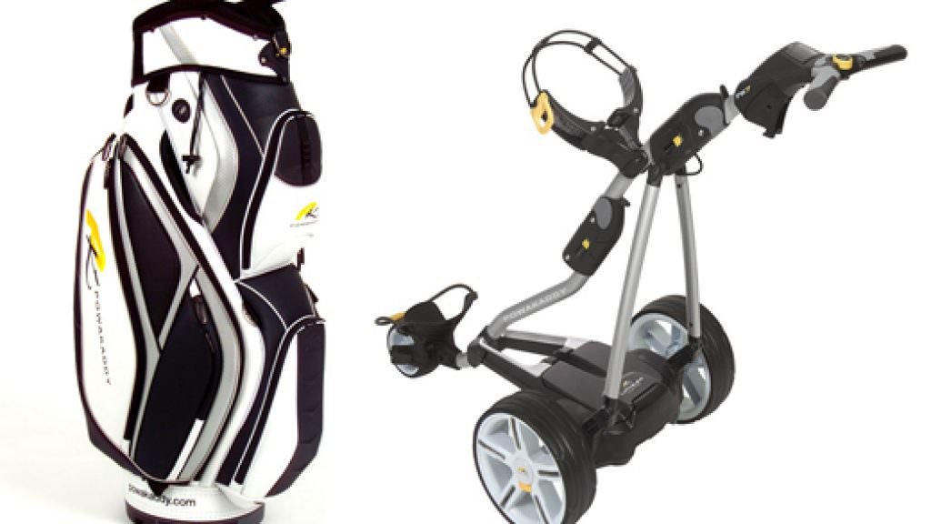 Powakaddy offer free cart bag with trolley purchase