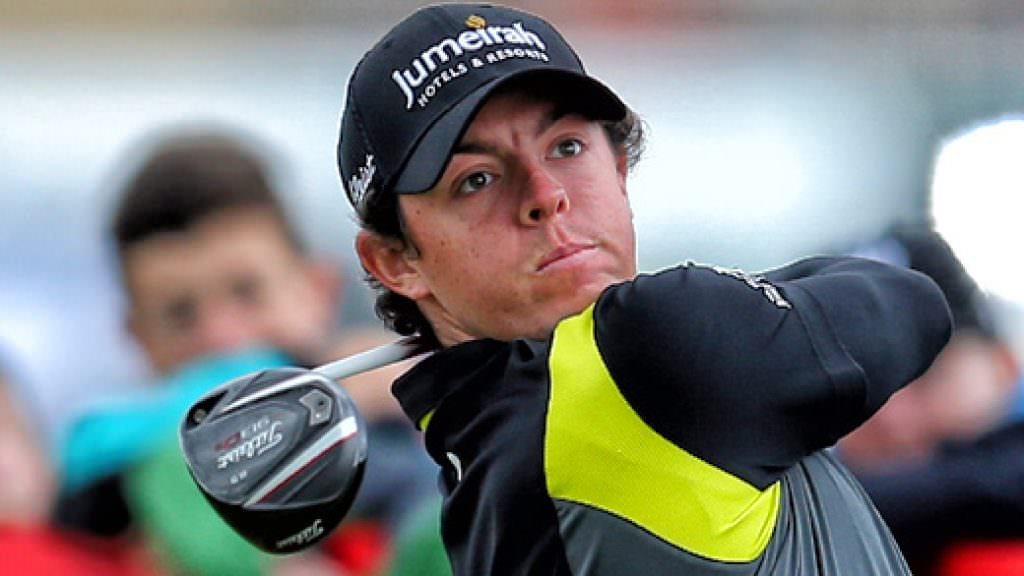 Rory McIlroy and his new Titleist driver