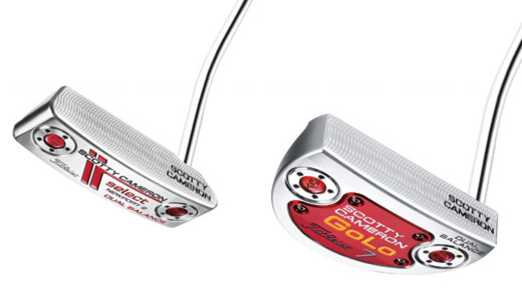 Scotty Cameron adds Dual Balance to Newport and GoLo putters