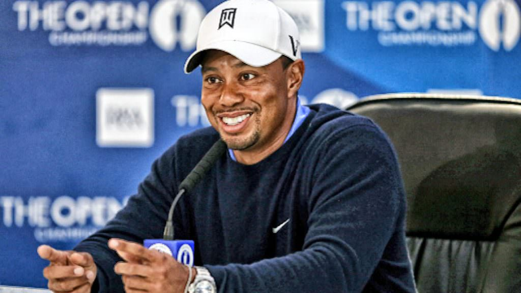 OPEN GOLF: Tiger Woods press conference