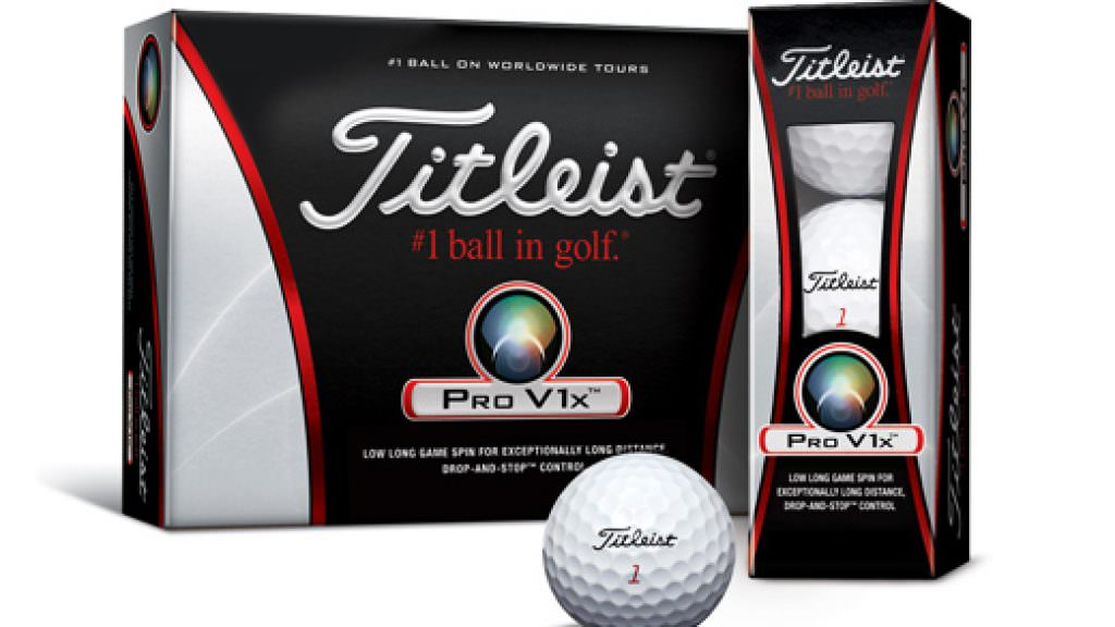 NCG TESTS: Titleist Pro V1x ball