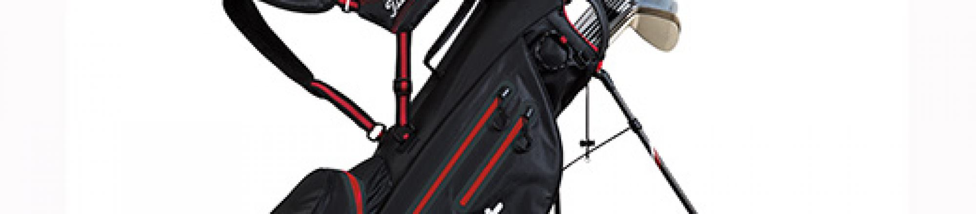 Equipment: Titleist go light with 4UP Stand Bag