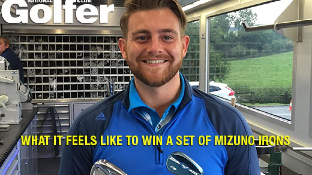 Video: What it feels like to win a set of Mizuno irons