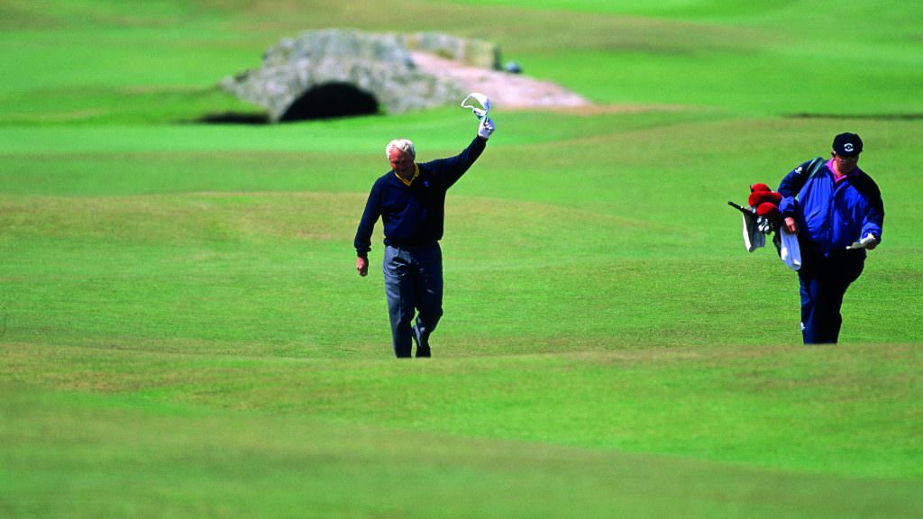 The man who saved the Open championship