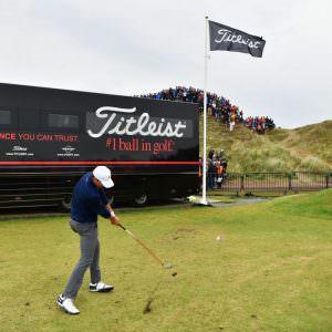 Is Jordan Spieth a lucky golfer?