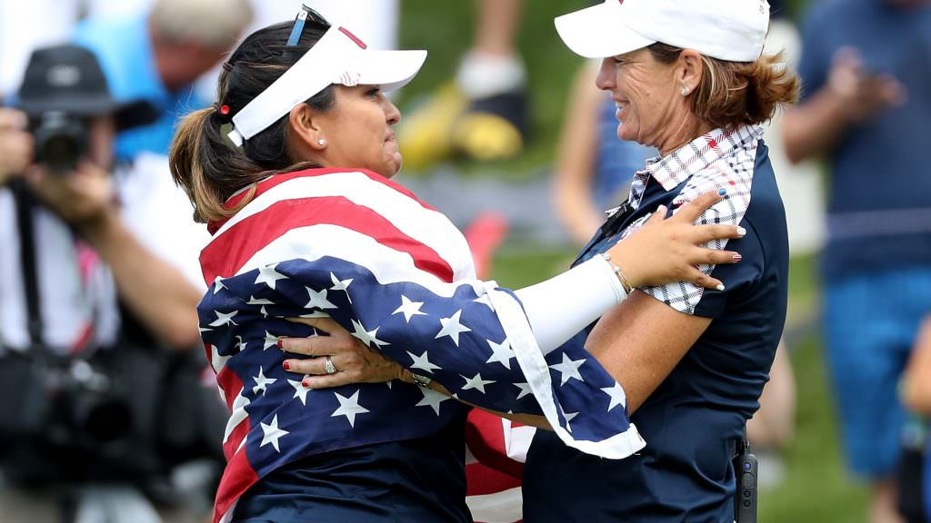 Today at the Solheim Cup: Dominant USA romp to victory