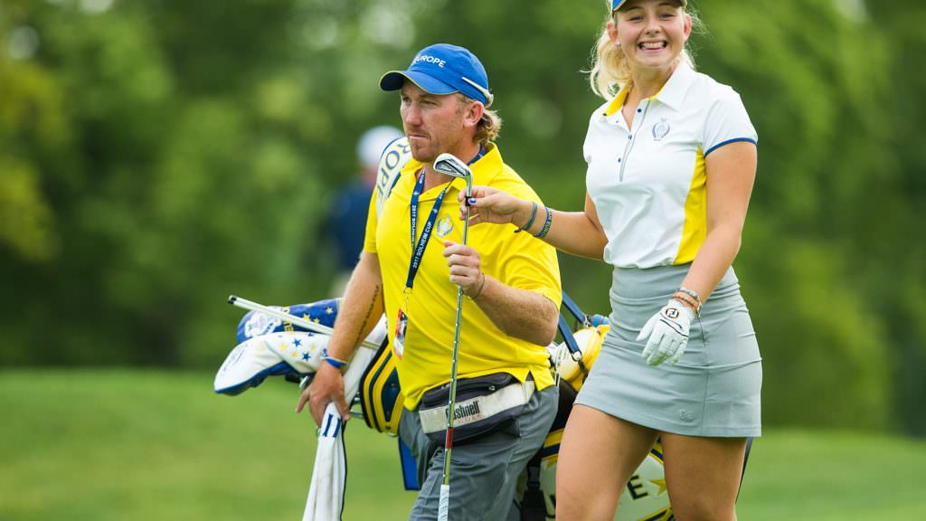Meet Team Europe's 'lucky charm' for the Solheim Cup