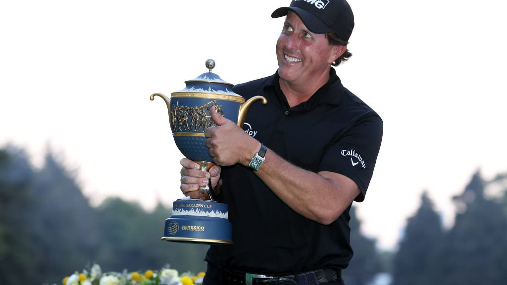 Mickelson eclipses Thomas' hole-out heroics, and the best piece of golfing commentary