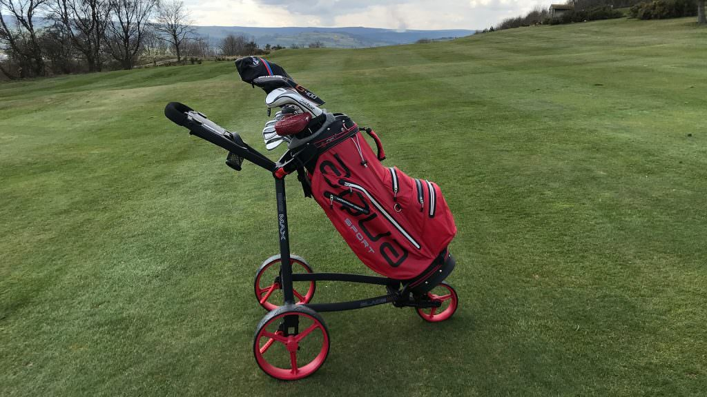 We take the new Big Max Blade IP push trolley for a spin
