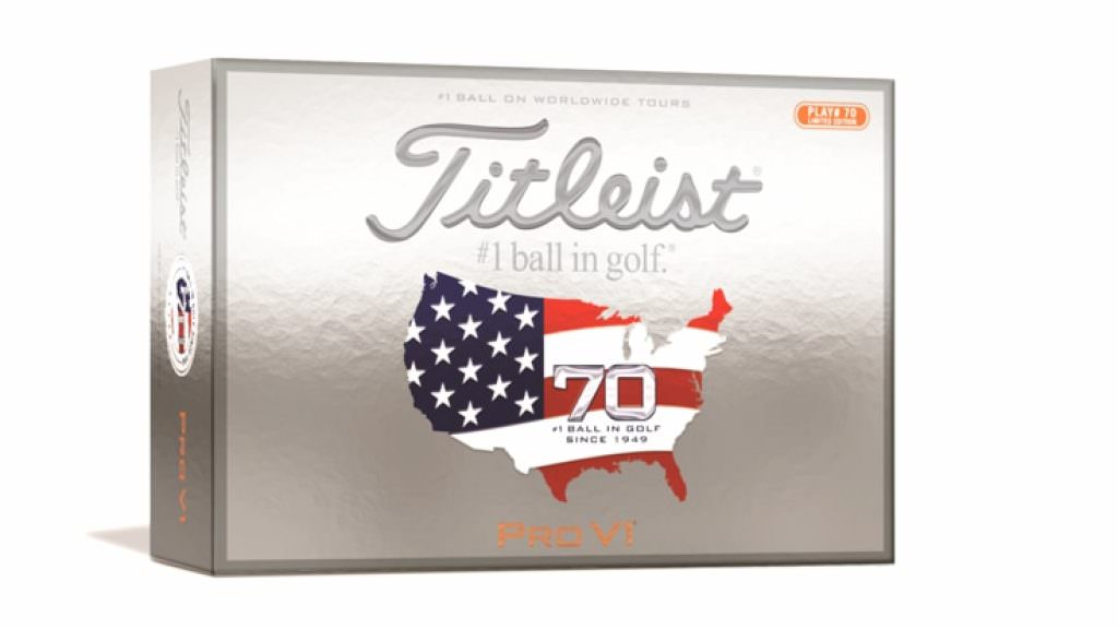 WIN: A year's supply of limited edition US Open Titleist golf balls