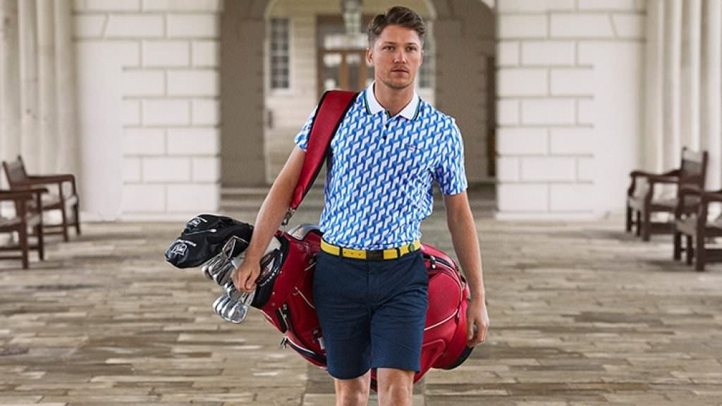 WIN: A Ted Baker Golf polo shirt and golf towel
