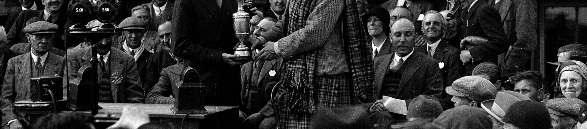 The year that the Open Championship first came to Carnoustie
