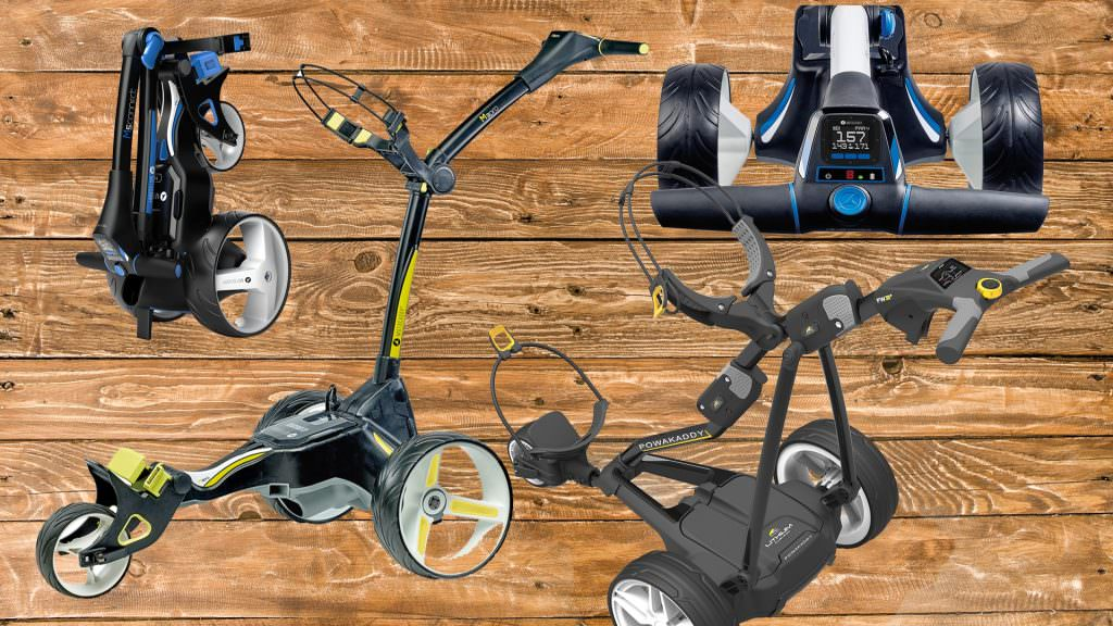 Which are the best new electric golf trolleys for 2018?