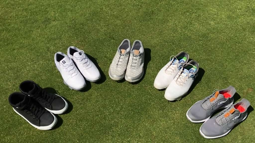 Which golf shoes have performed best on the course in 2018?