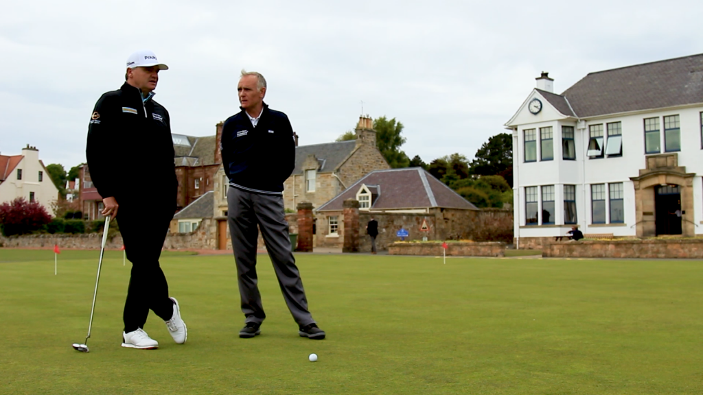 Paul Lawrie on the links: Get those long putts close every time