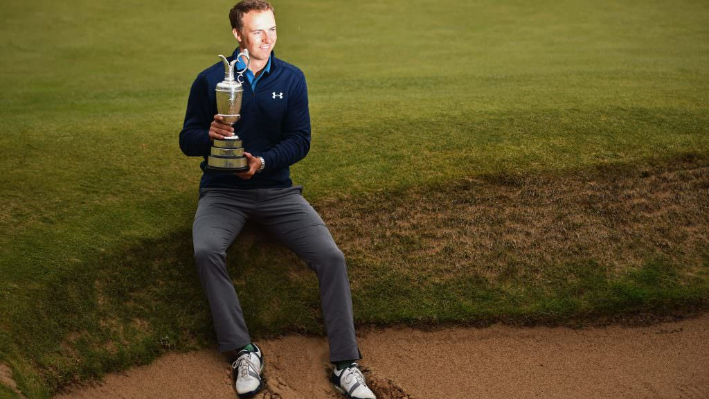 'Champion golfer of the year is such a cool title'