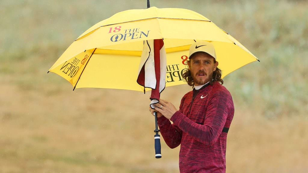 Fleetwood the favourite after sizzling 65