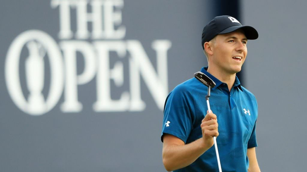Sublime Spieth leads but there's a Tiger prowling at Carnoustie