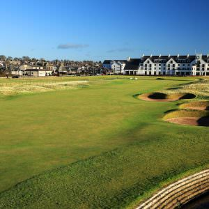 Recreating the most famous shots at Carnoustie