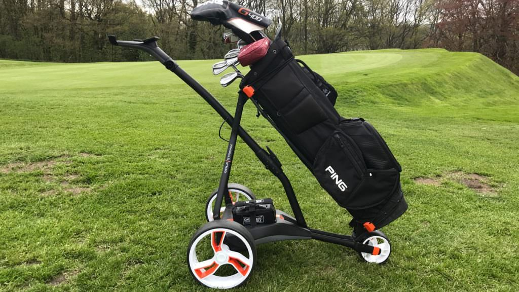 Review: Golfstream Vision electric trolley