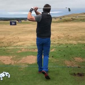A tour pro for a day: Taking on the Scottish Open pro-am experience