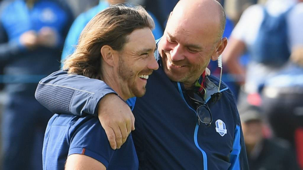 Bjorn's strategy rewarded as Europe assume the lead