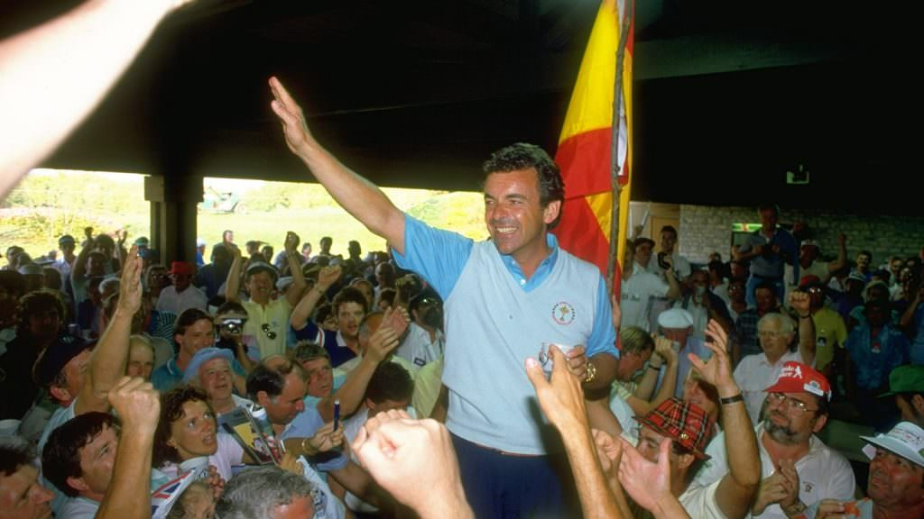 I was there when Europe brought the Ryder Cup home for the first time