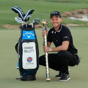 The clubs Willett used to win the DP World Tour Championship