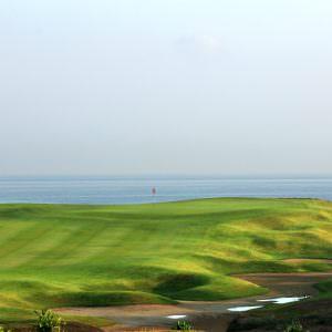 Classic course: Al Mouj Golf, Oman