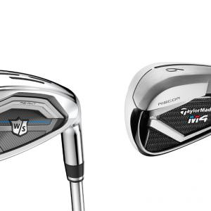 How do the new Wilson D7 irons compare to the TaylorMade M4?