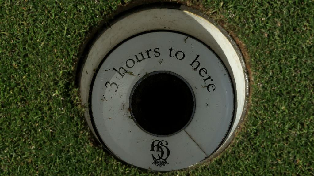 18 holes in under three hours? Golf isn't for you
