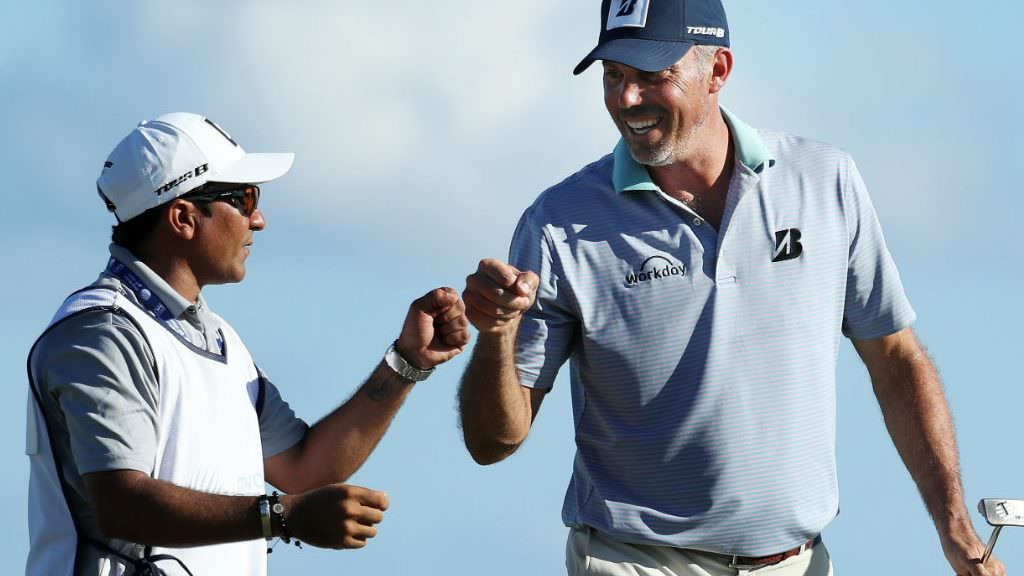 Kuchar 'cringed' when he read caddie comments