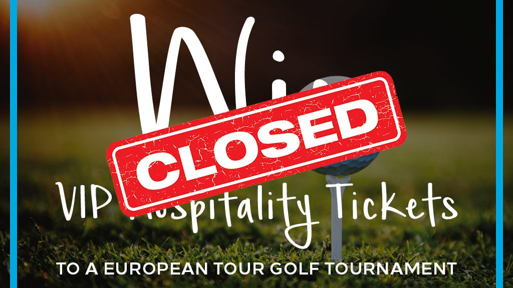 Win: Hospitality tickets to a European Tour event