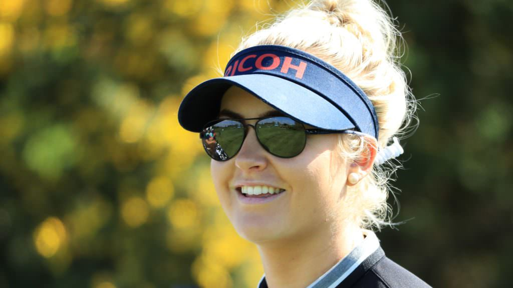Charley Hull on her major dreams, backstopping and some exciting news
